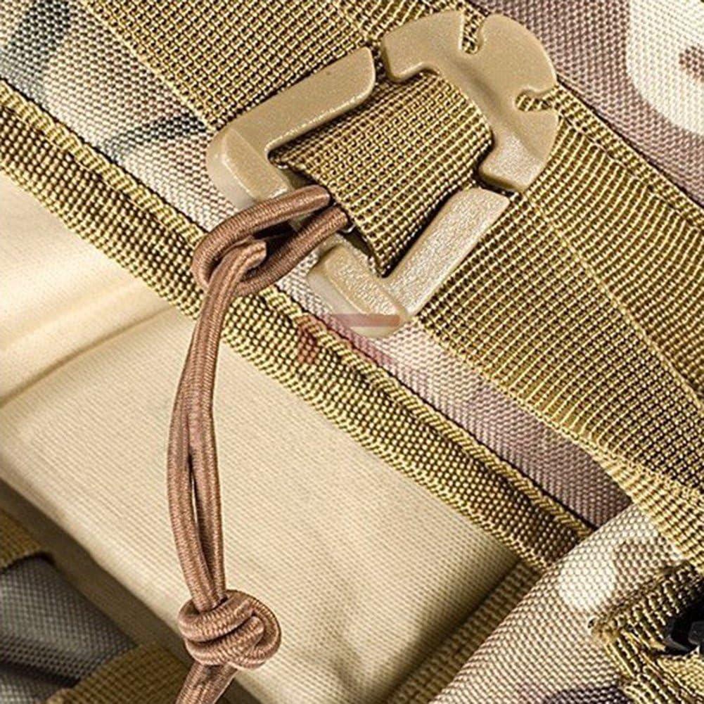2Pcs Tactical Dominator Elastic Cord Hang Buckle Clip PALS MOLLE EDC Webbing+