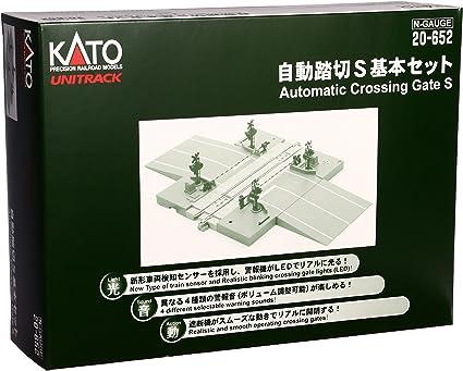 Kato 20-652 UNITRACK Automatic Crossing Gate S N scale