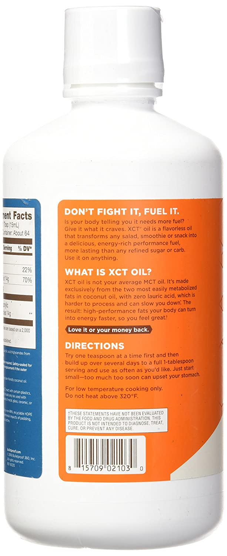 Amazon Com Bulletproof Xct Oil Keto Friendly Energy Ketogenic