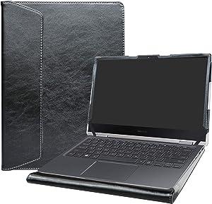 Alapmk Protective Case for 13.3 Inch Samsung Notebook 9 Pro 13 NP930MBE/Lenovo Yoga C640 C640-13IML/HP EliteBook 830 G7/HP EliteBook x360 830 G7 & 14 Inch HP EliteBook x360 1040 G7 Laptop,Black