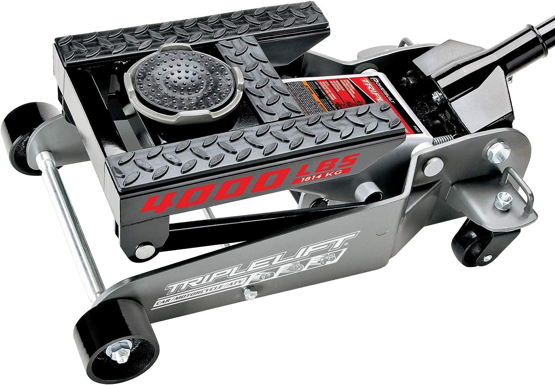 Powerbuilt 620422E 4000Lb Triple Lift Garage, Silver