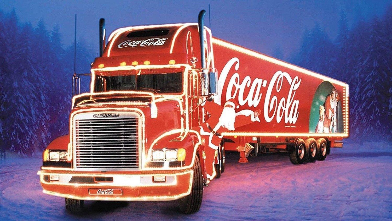 La Coca Cola Navidad camión llavero imán de posavasos taza regalo ...