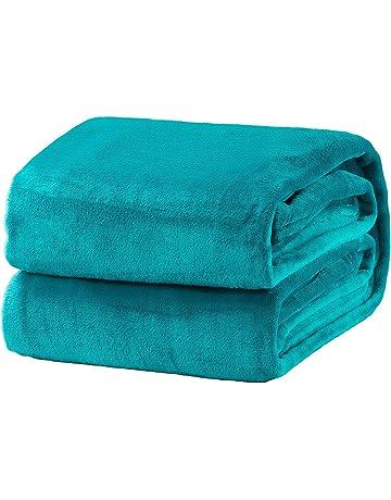 Bedsure Flannel Fleece Throw Blanket Lightweight Cozy Plush Microfiber  Solid Blanket 212b16290
