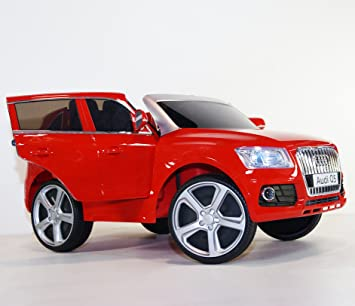 ride on car audi q5 style 2 seater 2 speed electric car with
