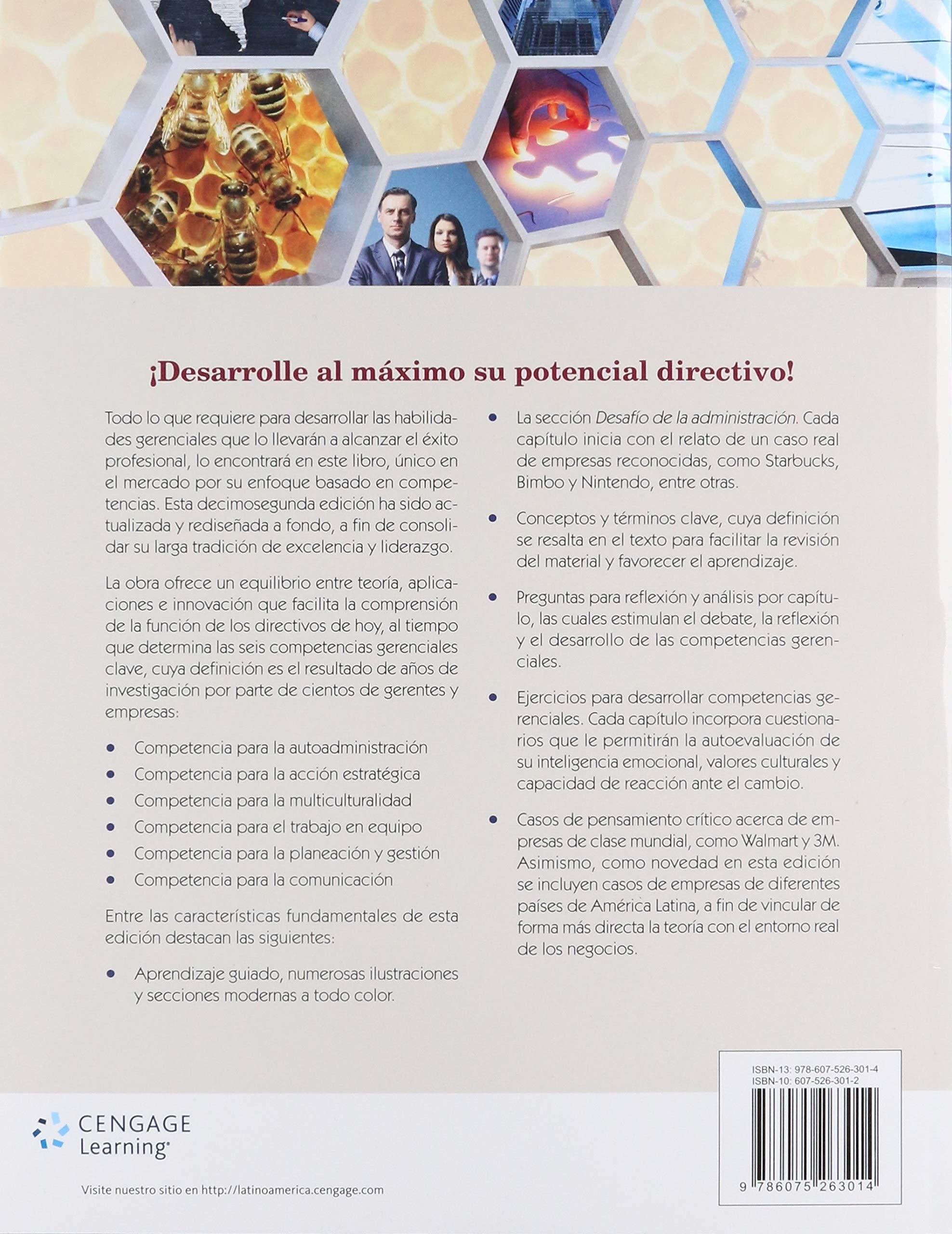 ADMINISTRACION UN ENFOQUE BASADO EN COMPETENCIAS 12ED: Amazon.es: HELLRIEGEL: Libros
