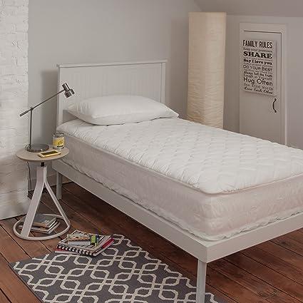 Lujo sealy Posturepedic – Almohada para 300 TC algodón egipcio de colchón impermeable Pad – fabricado