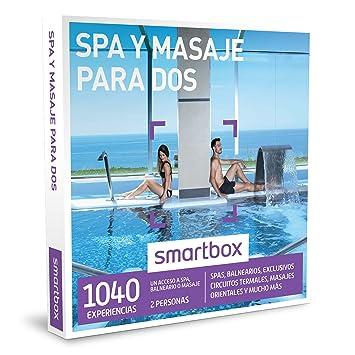 Smartbox - Caja Regalo - SPA Y MASAJES para Dos - 1040 spas, balnearios,