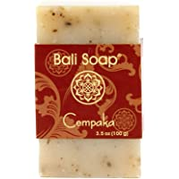 Bali Soap - Magnolia Champaca Natural Soap Bar, Face or Body Soap, Best for All Skin Types, For Women, Men & Teens, Pack…