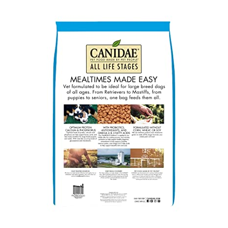 Amazon.com: Canidae Life Stages Alimento para perros ...