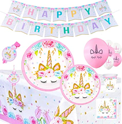 Amazon.com: Unicorn Party Supplies & Decorations ...