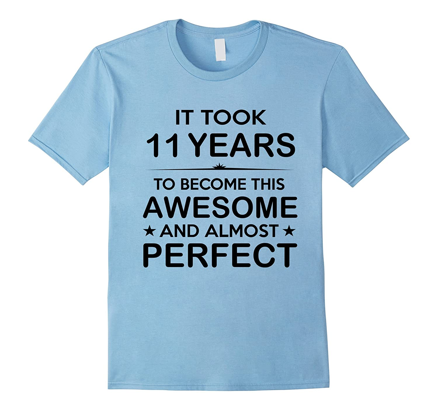 Eleven 11 Year Old -11th Birthday Gift Ideas for Boy Girl-TH - TEEHELEN