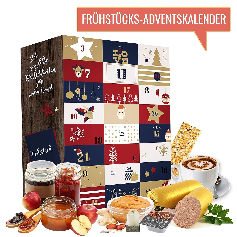 Frühstück Adventskalender I Weihnachtskalender mit 24 Frühstücks ...