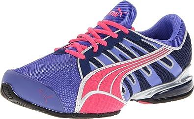 PUMA Women's Voltaic 3 NM Running Shoe,Violet Storm/Medieval Blue,6 B