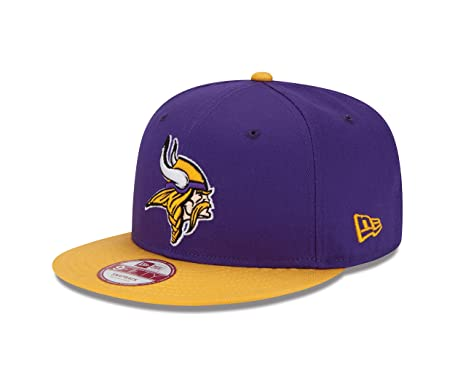 74afce41 Amazon.com : NFL Minnesota Vikings Baycik Snap 9Fifty Cap, Medium ...
