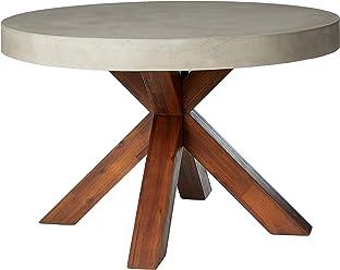 Sunpan Modern 101360 Duomo Round Dining Table 51.5