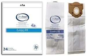 24 Eureka Style RR Vacuum Bags Designed to Fit Eureka Boss 4870 Series Upright Vacuums, Compare To Part # 61115, 61115A, 61115B, 63295A, 62437 by Electrolux Home Care Products Inc.