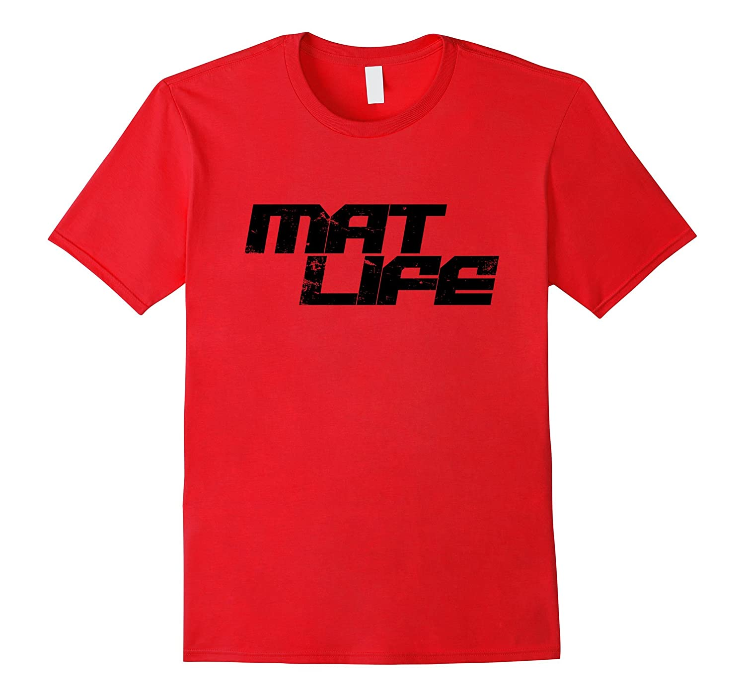Jiu Jitsu Mat Life BJJ T Shirt for Men or Women-FL
