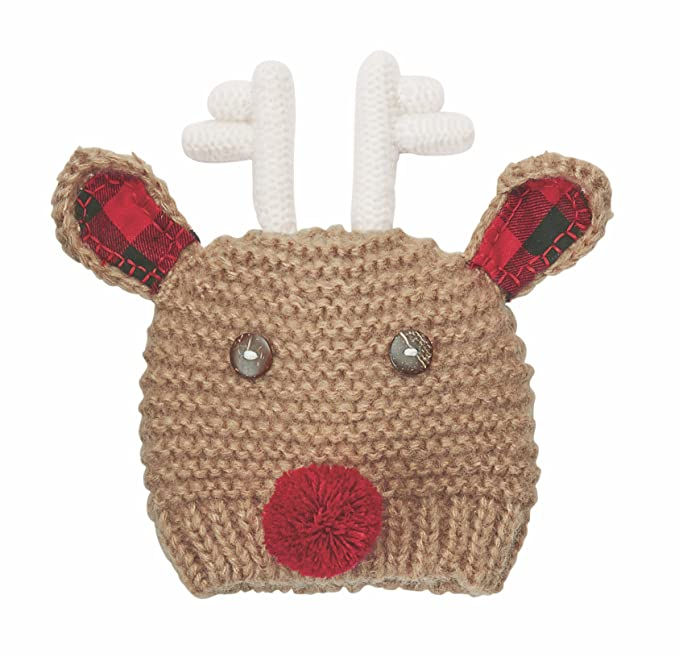 5b619022 Mud Pie My First Reindeer Hat Cotton Apparel Accessories