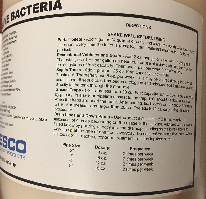 Líquidos Vivos bacterias enzima Tratamiento No patógenos ...