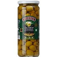 Borges Jalapeno Stuffed Green Olives, 450g