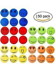 Xiton 150 Smiling Face Mückenschutz Aufkleber Anti-Moskito-Patches von Citronella Ätherische Öle 5