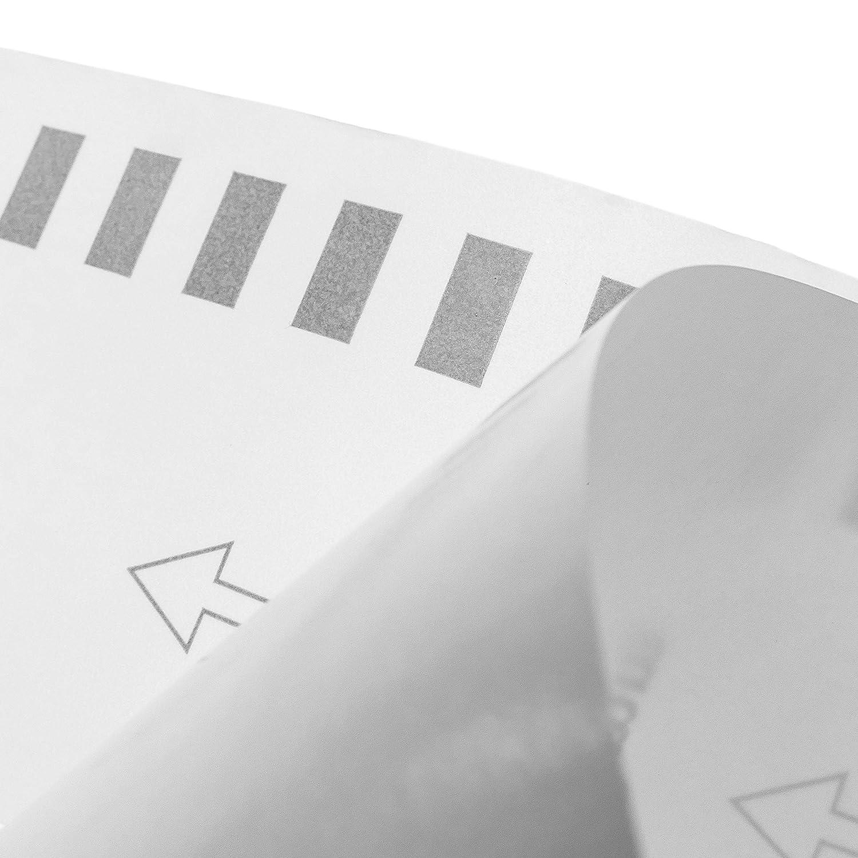 KT069 Rotolo di etichette adesive compatibili con Brother DK-22225 larghezza 38 mm lunghezza 30,48 m BeMatik