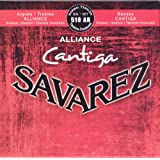 Savarez Saiten für Klassikgitarre Alliance Cantiga Satz 510AR Normal Tension rot