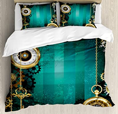 Ambesonne Industrial Duvet Cover Set