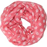 Ted and Jack - Playful Polka Dot Infinity Loop Scarf