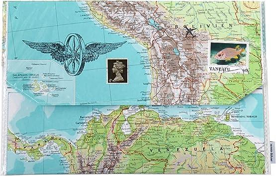 Unisex Reiseorganizer Dokumententasche Reiseetui Reisepasshülle