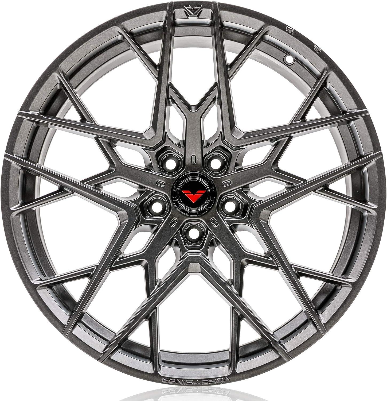 Amazon Com Vorsteiner V Ff 111 Flow Forged Front Wheel Compatible With 12 19 Bmw F3x 3 4 Series 5x120 Bolt Pattern 18x8 5 35mm Offset Carbon Graphite 1 Pc Automotive