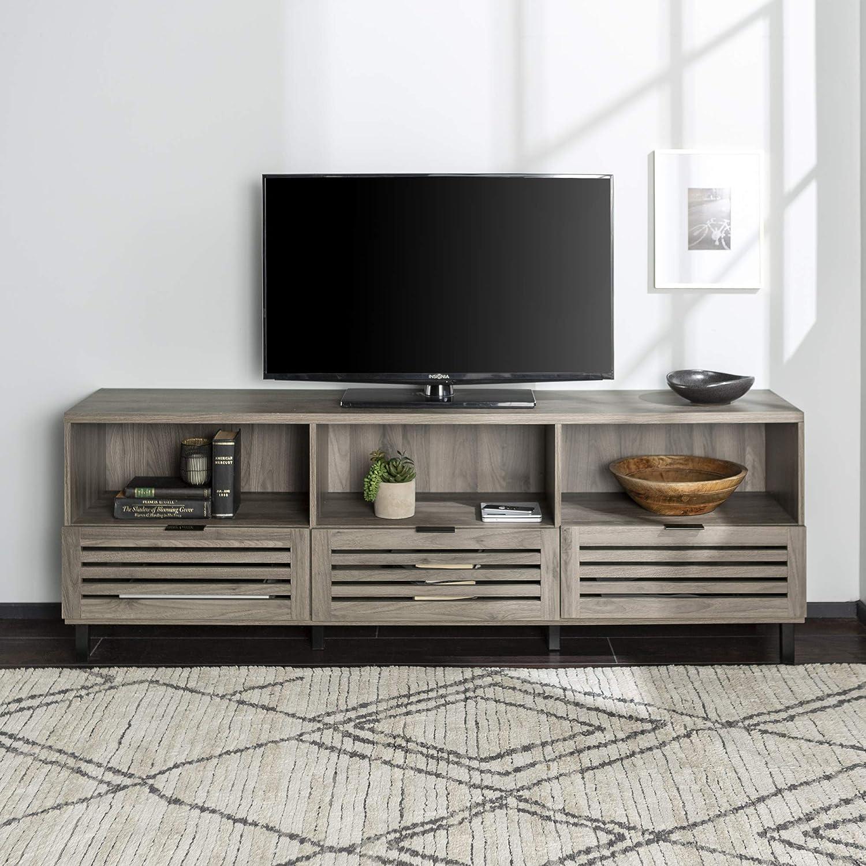 Amazon.com: WE Furniture - Consola para puerta (pizarra ...