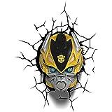 3D Light Fx Transformers Bumble Bee Lampada LED, Multicolore, 23 x 15 x 31 cm