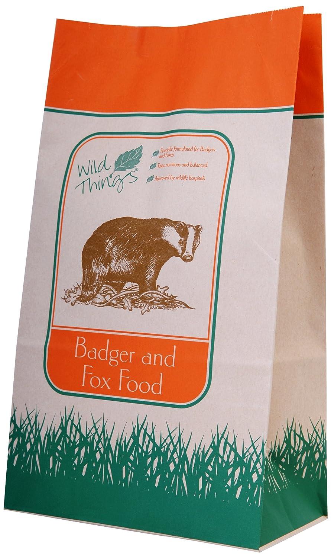 WILDLIFE WORLD 2kg Badger / Fuchs Futter Wildlife World Ltd