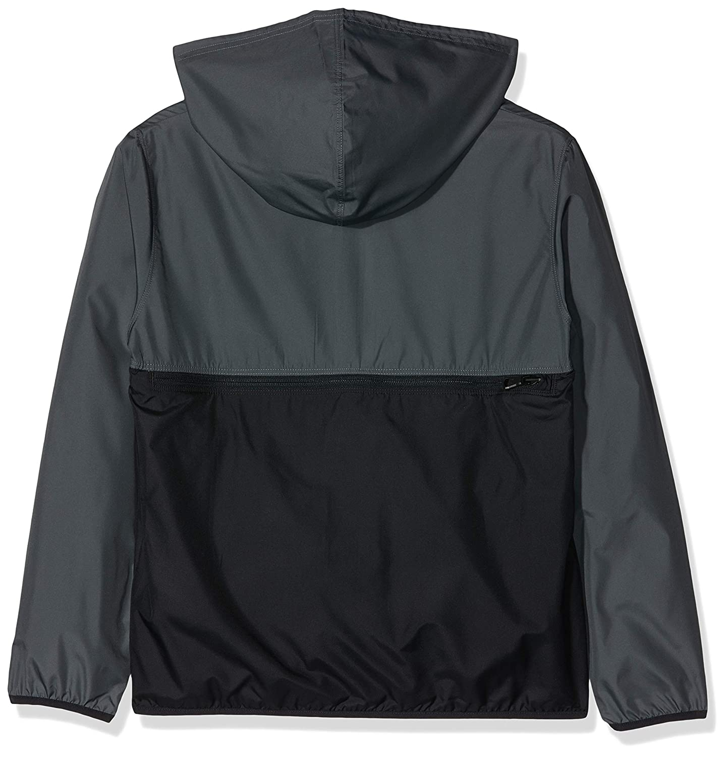 66559f37d Amazon.com: Under Armour Boys Packable 1/2 Zip Jacket, Pitch Gray//Black,  Youth: Clothing