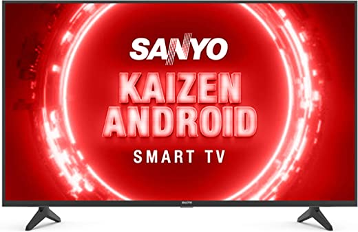Sanyo (43 inches Kaizen Series 4K Ultra HD Certified Android LED TV XT-43UHD4S (Black) (2020 Model)