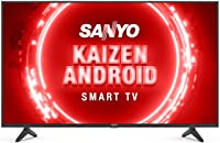 Sanyo 108 cm (43 inches) Kaizen Series 4K Ultra HD Certified Android LED TV XT-43UHD4S (Black) (2020 Model)