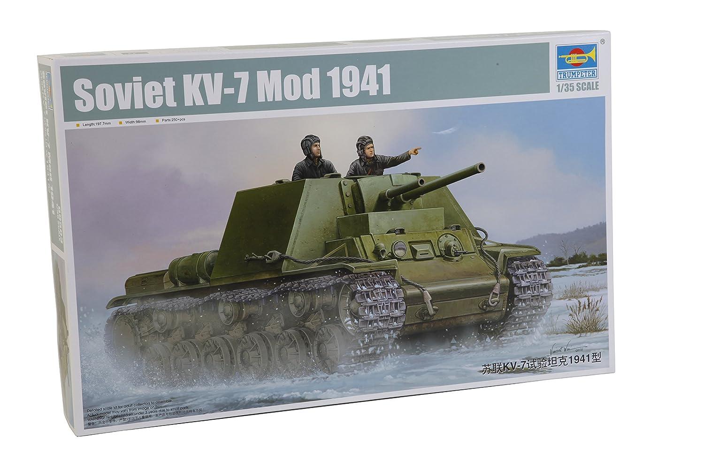 Trumpeter 09503 - Modellbausatz Soviet KV-7 Mod 1941 B01BHSJXSS Panzer Zu verkaufen | Hat einen langen Ruf