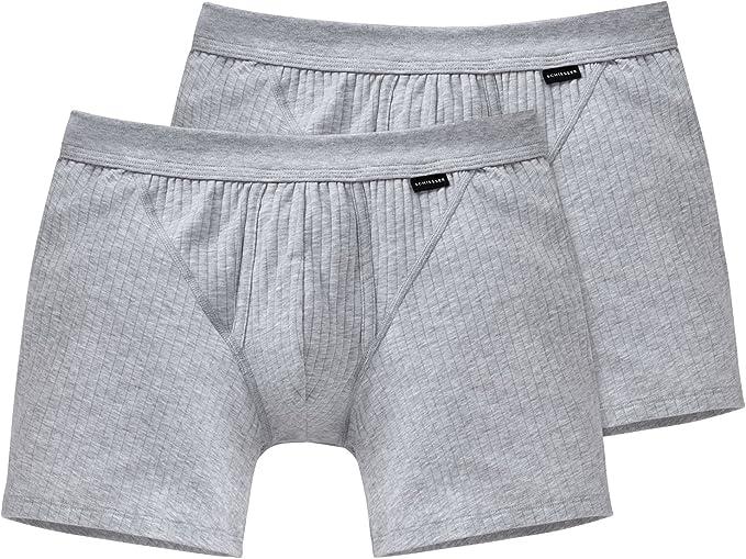 2 x Schiesser BLUEBIRD COTTON  Shorts Gr 4  5 6 7 8  NEU