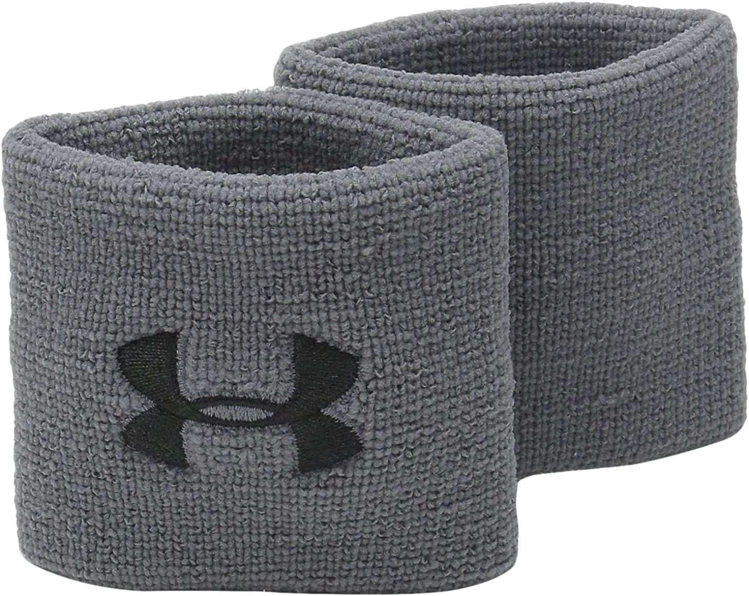 Under Armour Men's 3-inch Performance Wristband 2-Pack