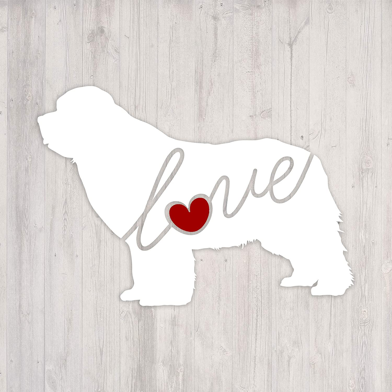Newfoundland Car Window Decal