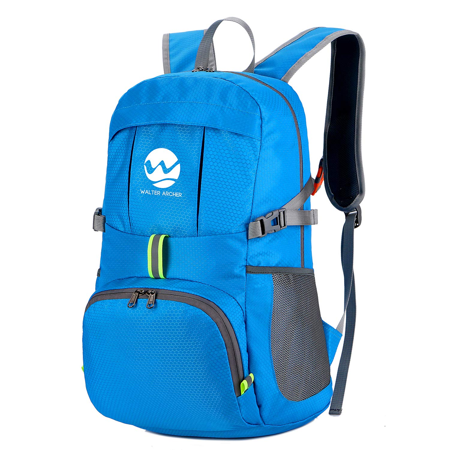Foldable Outdoor Camping Hiking Backpack Casual Daypack for Men Women Durable 35L Travel Backpack Water Resistant Kebaza Lightweight Packable Backpack