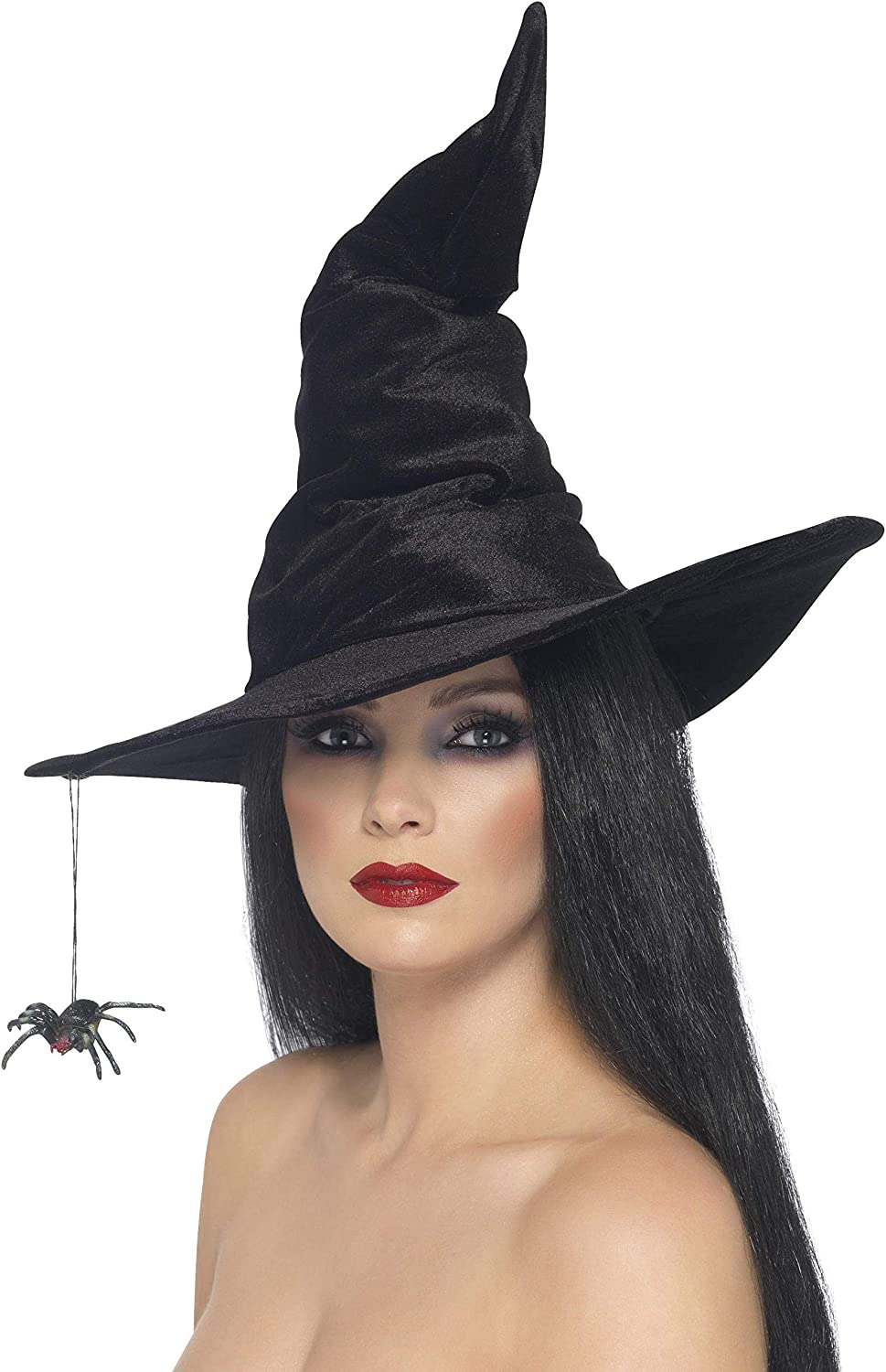 Smiffys Witch Hat Black: Clothing
