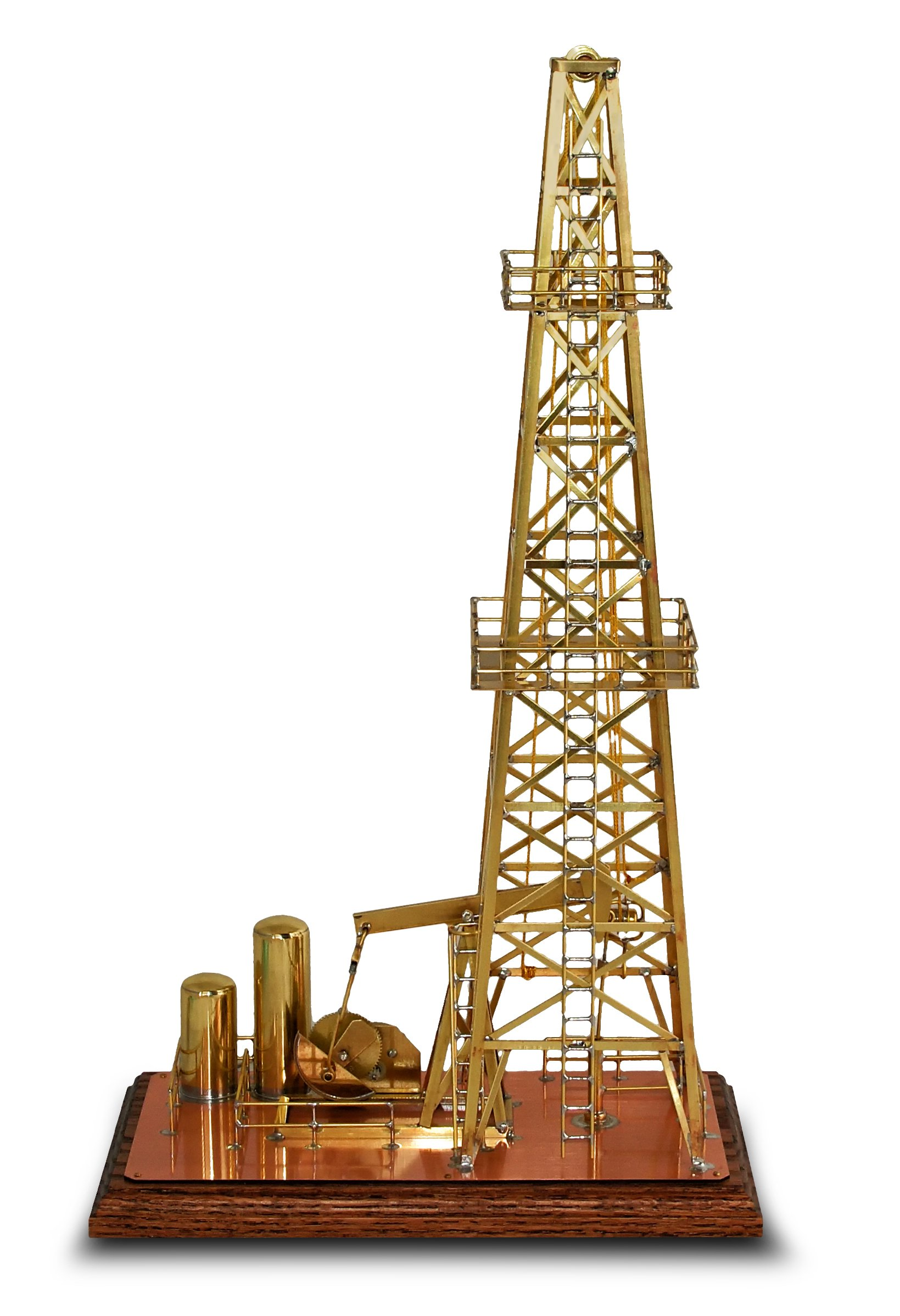Solarts Oil Derrick OD-8 - Solar Powered Model/Executive Gift by Solar Made (Image #3)