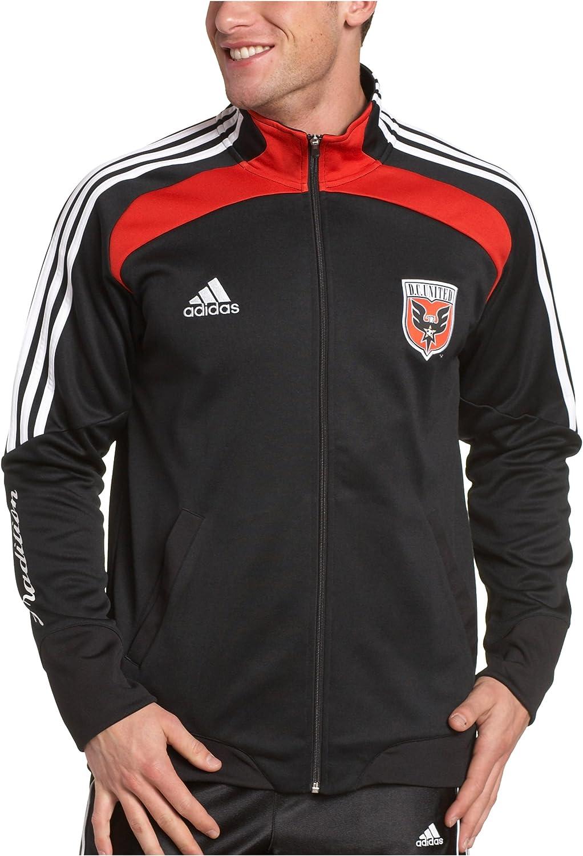 adidas MLS DC United Chaqueta de chándal, Hombre, Negro: Amazon.es ...