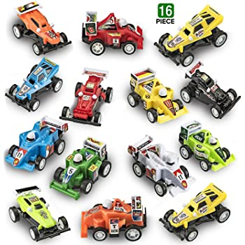 12 Count Rhode Island Novelty Pullback Race Car