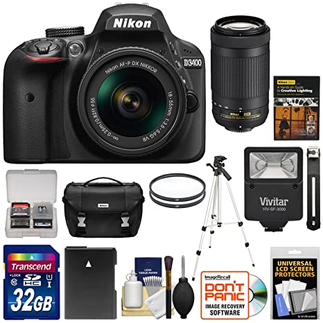 The 8 best nikon d3400 dslr camera 2 lens bundle reviews