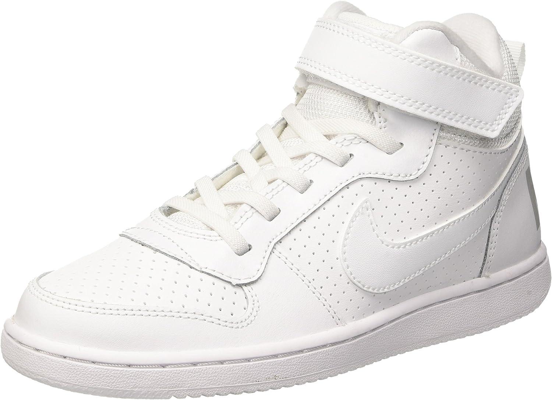NIKE Court Borough Mid (PSV), Zapatos de Baloncesto Niños