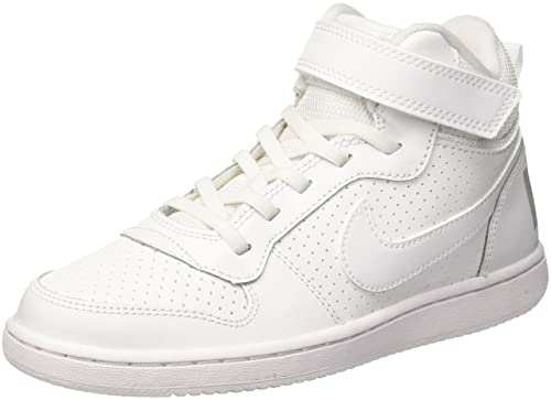 quality design fc001 b7b56 Nike Court Borough Mid (Psv), Boys  Basketball, Off White (White