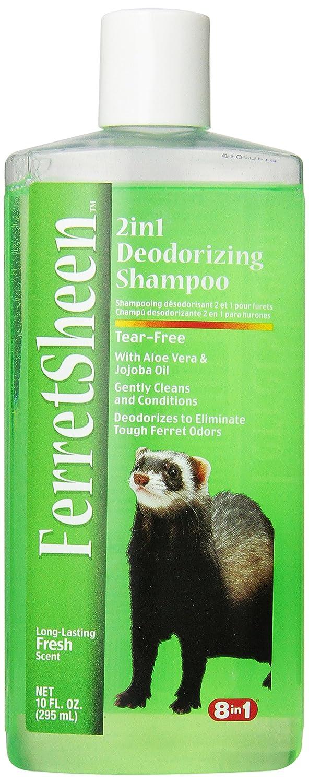 8 In 1 Ferretsheen 2-in-1 Deodorizing Shampoo, 10-Ounce Eight in One (8 in 1) P-83528